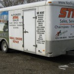 20ft enclosed trailer